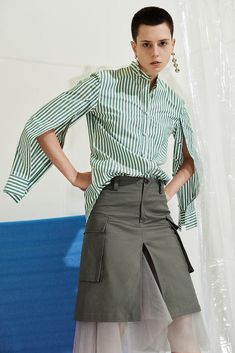 Striped Shirt - USD$63.90