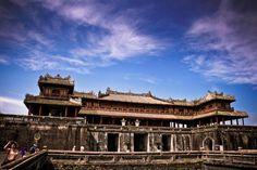 La citadelle de Hué.