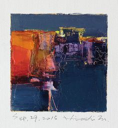 Hiroshi Matsumoto oil painting sep292015