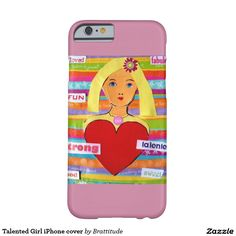 Talented Girl iPhone cover