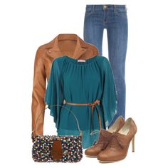 Funky Casual for Fall by callmeadie