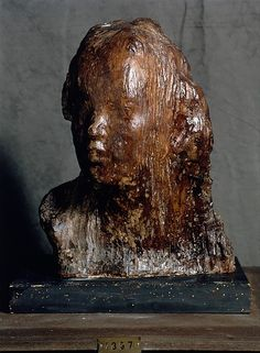 Ecce Puer  Artist:     Medardo Rosso (Italian, Turin 1858–1928 Milan)  Date:     1906 (model), cast after ca. 1920  Medium:     Painted plaster  Dimensions:     19 11/16 × 12 13/16 × 15 3/16 in. (50 × 32.5 × 38.5 cm)  Classification:     Sculpture  Credit Line:     Museo Medardo Rosso  Rights and Reproduction:     Image courtesy Museo Medardo Rosso, Barzio, Italy