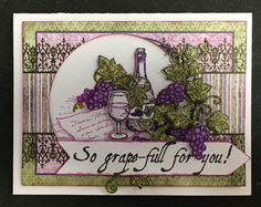 By Katherine Vess. Another card using the Heartfelt Creations Italian Riviera Collection stamps and dies.