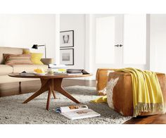 Lind Cowhide Ottomans - Benches & Stools - Living - Room & Board