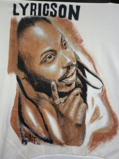 Lyricson T-shirt hand paint