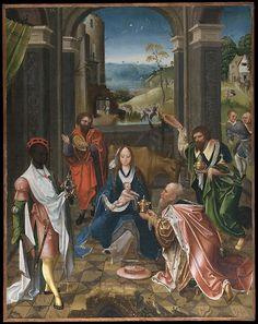 Netherlandish (Antwerp Mannerist) Painter (ca. 1520), The Adoration of the Magi