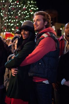 Eric Lively and Tika Sumpter in Tyler Perry's A Madea Christmas