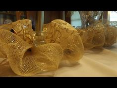 How to Make a Deco Mesh Garland - YouTube