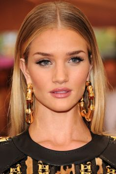 Rosie Huntington-Whiteley slicked back hair - Google Search