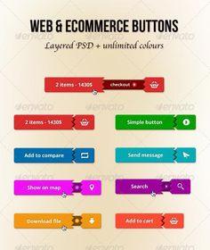 107 Best Button Design images in 2019 | Buttons, Web Design, Design