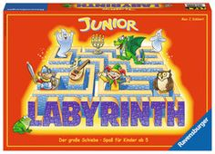 Shop Ravensburger UK 21246 Ravensburger Labyrinth Junior-The Moving Maze Family Board Game for Kids Age 5 and Up-So Easy to Learn & Play with Replay Value. Ravensburger Puzzle, Labyrinth Board Game, Aqua Doodle, Strange Things Are Happening, Puzzles 3d, Maze Game, Cute Ghost, Baby Sensory, Board Games