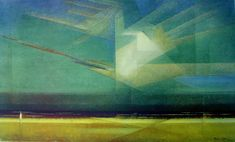 Lyonel Feininger (1871–1956), Bird Cloud, Kerrisdale Gallery