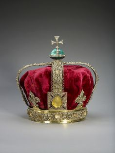 Staatskrone Georg I. State Crown of George I 1715 © The Royal Collection Her Majesty Queen Elisabeth II.