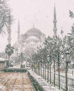 In January 2017 Istanbul had the heaviest snowfall in the city since 2009.