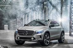 Mercedes-Benz has presented a fresh-styled SUV GLA Concept.   http://arenamobi.com/2013/04/20/mercedes-benz-concept-gla_24924
