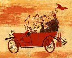 Cartoon Modern :: Tom Oreb  TINTA / LINEA