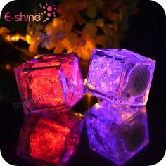 Factory Wholesale Light Up Ice Cubes