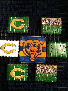 Chicago Bears Cookies by MMayhugh, via Flickr #football