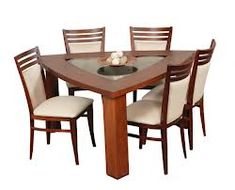 How to organize Dinning Table Design, Wooden Dining Tables, Dining Decor, Dining Room Chairs, Sweet Home Design, Small Dining Area, Modern Coffee Tables, Kitchen Furniture, Home Decor