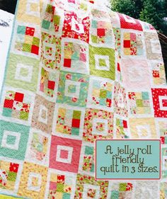 56 x 64 - 1 Jelly Roll (35 Strips)