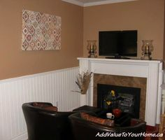 Debi from Add Value To Your Home is sharing an Easy & Inexpensive DIY to add WOW factor to your walls!