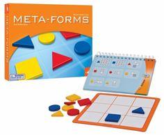 Meta Forms ontwikkelt het analytisch- en logisch denkvermogen en is een prachtig spel voor kinderen vanaf 6 jaar, maar biedt ook veel uitdaging voor volwassenen.