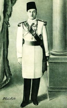 King Farouk of Egypt. Very nice picture for King Farouk.