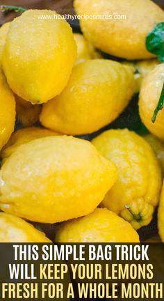 Freezing Lemons, Healthier Together, Der Plan, Coconut Health Benefits, Simple Bags, Healthy Fruits, Dressings, Natural Remedies, Herbal Remedies