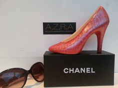 Dorothy Magical Chocolate Shoe by Azra Chocolates. Edible art!  Free UK postage and packaging for all high heel shoes. www.azrachocolates.co.uk  Where fashion, meets chocolate!