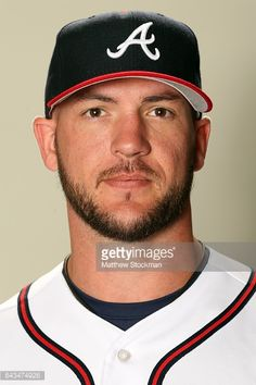 Tyler Flowers poses for a portrait during Atlanta Braves Photo Day at Champion Stadium on February 21, 2017 in Lake Buena Vista, Florida.