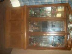 Oak China Cabinet - $500 (Neenah)