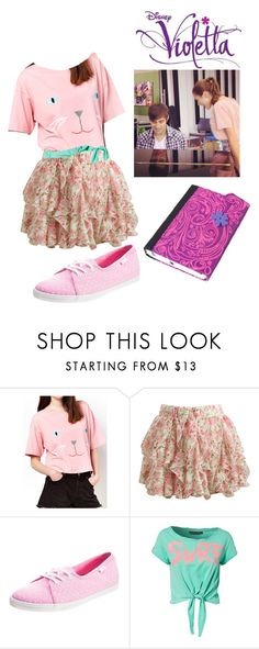 """Untitled #1033"" by maria-cmxiv on Polyvore featuring Wet Seal, Vans and Only Play"