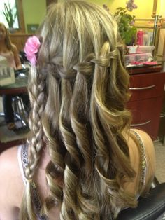 waterfall braid too