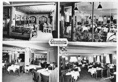Elverum, Elvarheim restaurant brukt 1958. Foto: Normann