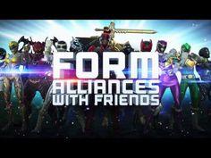 Power Rangerit hyppäävät pian valkokankaille, mutta ovat juuri saaneet oman mobiilipelin ⚡️  POWER RANGERS elokuvateattereissa 7.4. 🎬
