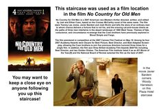 """Here is a little information about the filming of """"No Country for Old Men"""" at the Plaza Hotel"""