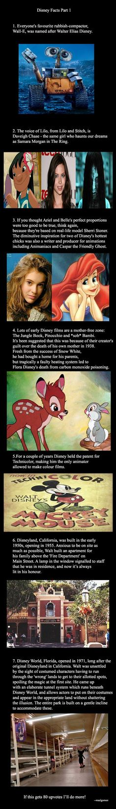 Disney Facts Part 1