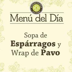 Este es nuestro delicioso #MenuDelDía para este día, te esperamos en nuestros restaurantes de #VíaPrimavera #ElTesoro y #CityPlaza. #MundoVerde