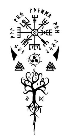 tatuaggio - tatuaggio You are in the right place about diy furniture Here we offer you the most beautiful pictu - Viking Tattoo Symbol, Norse Tattoo, Viking Tattoo Design, Celtic Tattoos, Tattoo Designs Men, Hand Tattoos, Tribal Arm Tattoos, Body Art Tattoos, Sleeve Tattoos