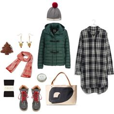 imaginary outfit: cookie sale by evencleveland on Polyvore featuring Madewell, Geox, Falke, Joie, Vera Bradley, Kavu and CB2