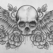 Skull Tattoo Design With Royal Crown | Tattoosk