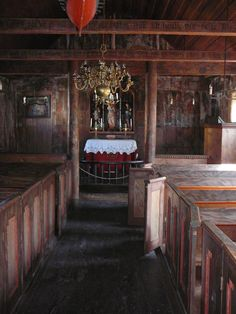 Wooden Churches in the North and East of Europe: Norway Stave Churches; Grip stavkyrkje