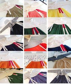 Innojudan, Chai Kim, and Riseul Hanbok - therezepte sites Korean Traditional Dress, Traditional Dresses, Korea Fashion, Asian Fashion, Korea Dress, Modern Hanbok, Korean Design, Tunic Pattern, Folk Costume