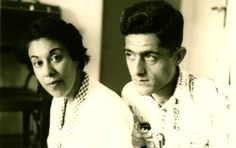 "Simin Daneshvar & Jalal Al-e Ahmad - From article about ""Sauvashon"" <3"