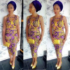 Unique ankara styles Hello beautiful ladies, Its really great to enter a brand new week and few week to the ileya day like the Yoruba's will say, hope yo African Attire, African Wear, African Women, African Dress, African Style, African Clothes, African Fashion Designers, African Print Fashion, Africa Fashion