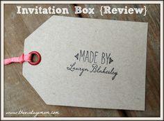 Invitation Box {Review}