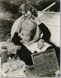 Ann-Margret and Elvis Presley.  He should of married her! you know true love when you see it! Just simply inspiring.