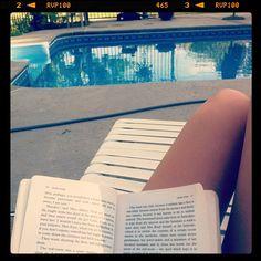 Jane Eyre by the pool. Instagram photo by @_kimberleylynn http://www.penguinenglishlibrary.com/#!jane-eyre