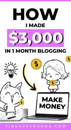 So you want to learn how to start a blog and make money blogging as a beginner? Follow my blog income reports along with my blogging journey and I'll show you how to earn money from home with affiliate marketing and displaying ads on your blog. I can honestly say I was clueless, naïve and had NO experience when I first started! For months, I was skeptical, but within my first year of learning, I earned $5,000 per month in passive income. I'll show you how in my first income report! Earn Money From Home, Earn Money Online, Make Money Blogging, Way To Make Money, Money Tips, How To Start A Blog, How To Make, Online Entrepreneur, Blogging For Beginners