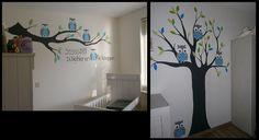Xio's muurschildering - Kinderkamer Muurschilderingen/ Muurtekening